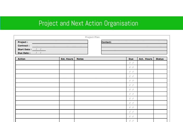 Project & Next Action Organisation