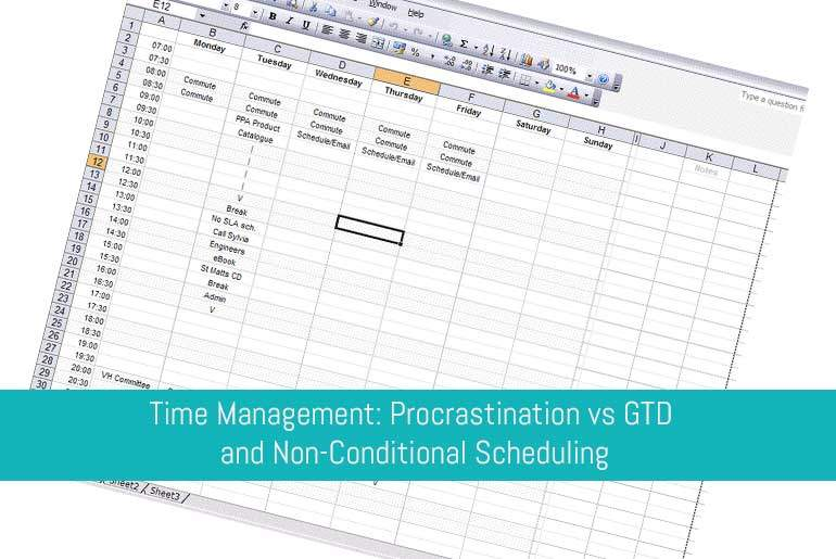 Time Management and Non Conditional Sccheduling