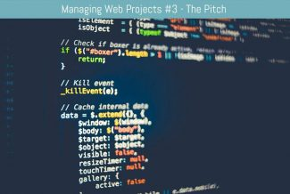Managing Web Projects #3 - The Pitch