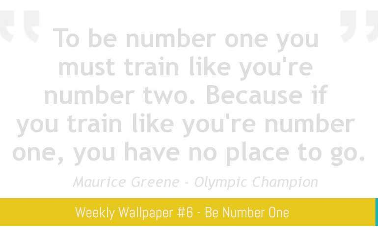 Featured - Wallpaper 6 - Number One