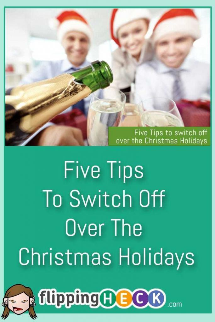 Youmayonlyhaveacoupleofdaysofforyoumaybeluckyandhaveacoupleofweeksoffoverthefestiveperiod-howeverlongyouhaveitsimportanttomakethemostofthetimeyouhavetrytoswitchofffromworkandenjoysomemuchneededfamilytimeHereare5simpletipstohelpyoumakethemostofyourholidays