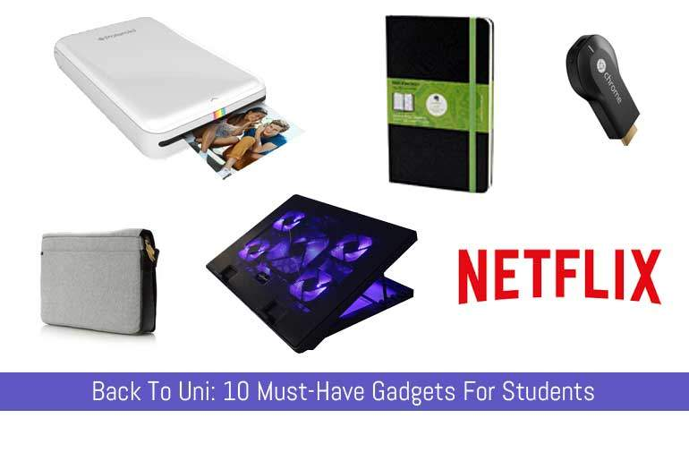 10 must have gadgets for students