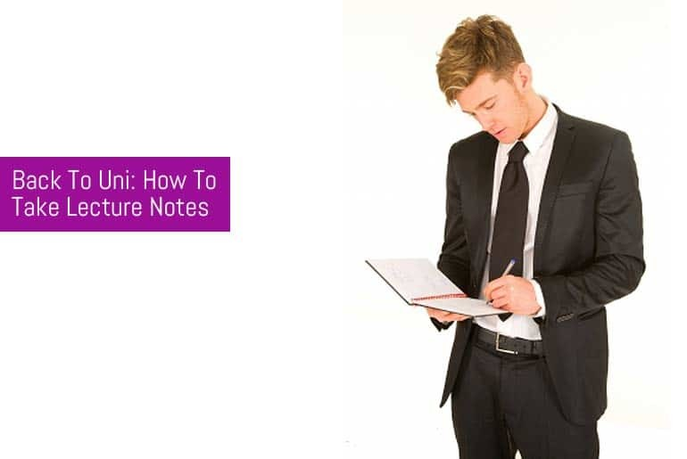 How to take notes in lectures