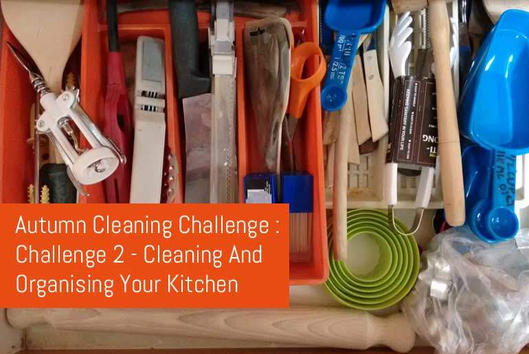 Cleaning And Organising Your Kitchen