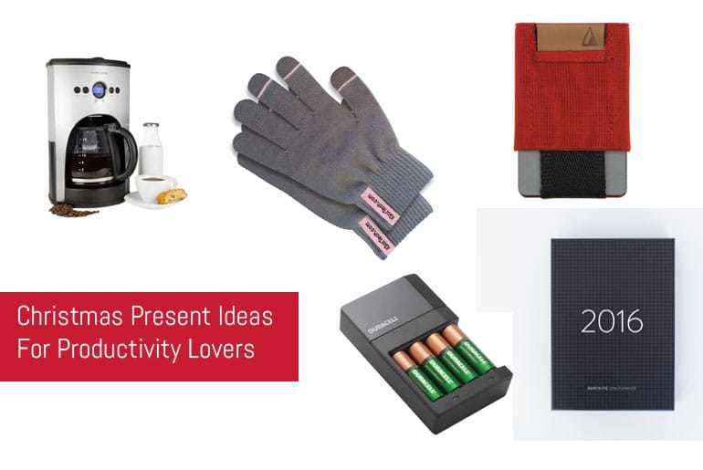 Christmas Present Ideas For Productivity Lovers