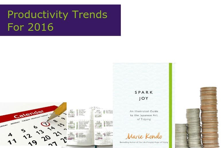 Productivity Trends For 2016