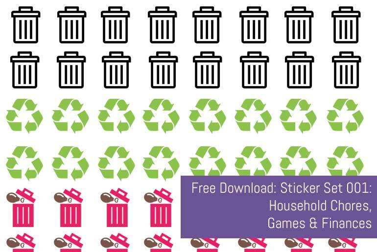 Free Download: Stickers 001