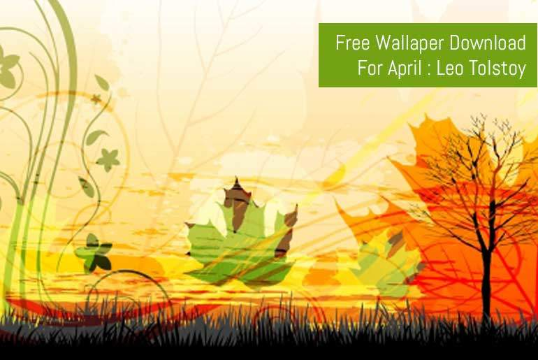 Featured Image - Free Download - April Motivational Wallpaper