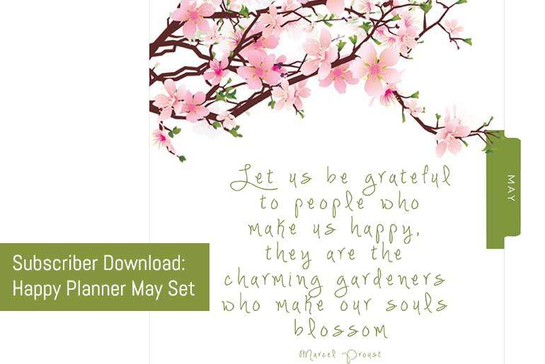 May Happy Planner Set