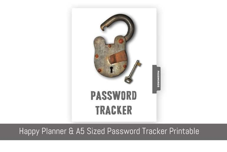 Password Tracker