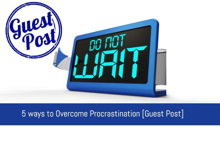 5 ways to beat procrastination