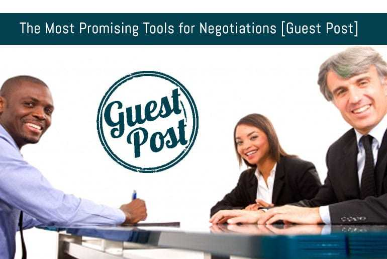 The Most Promising Tools for Negotiations