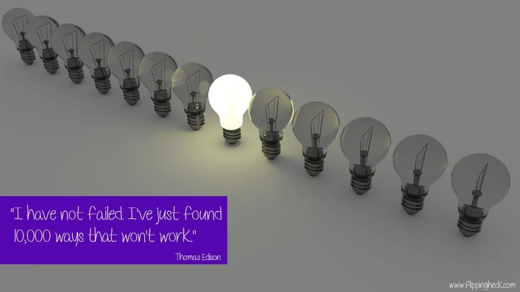Free Download: September Motivational Wallpaper [Quote By Thomas Edison]
