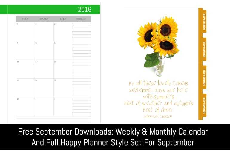Free September Subscriber Downloads