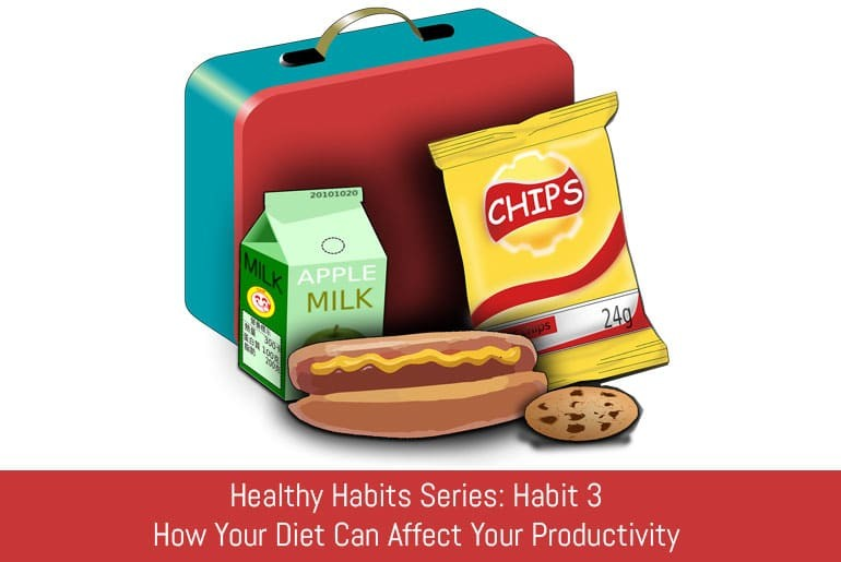 Healthy Habits Series: Habit 3 - How Your Diet Can Affect Your Productivity