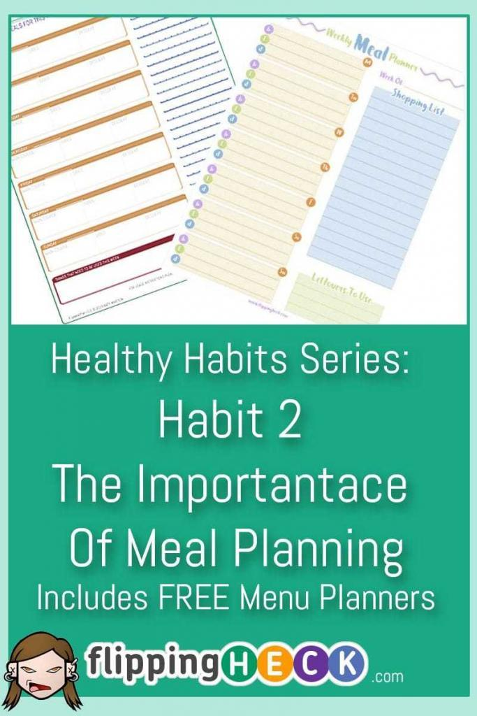 importance of menu planning In food production and operations, planning of menu is an important task if the chef plans the menu in advance, it is easy to deliver ready food items on time a ready menu can help organize the food preparation and ensures the chef cooks not only tasty but also healthy and nutritious food.