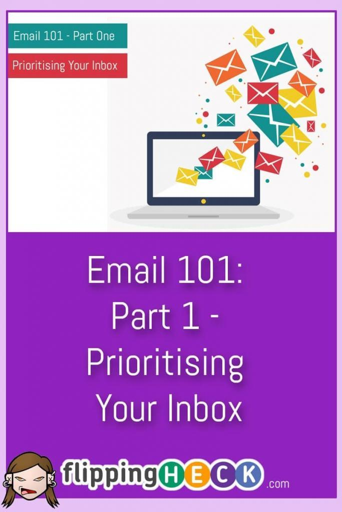 This is the first part in the Email 101 series. In this article we look at how you can prioritise your inbox so that you can start to focus on what's important and stop being distracted by content that can wait until later or be deleted straight away.