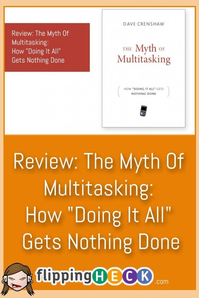 Did you know that multitasking isn't actually making you more productive - in fact it's doing the opposite! In this article I review Dave Crenshaw's book