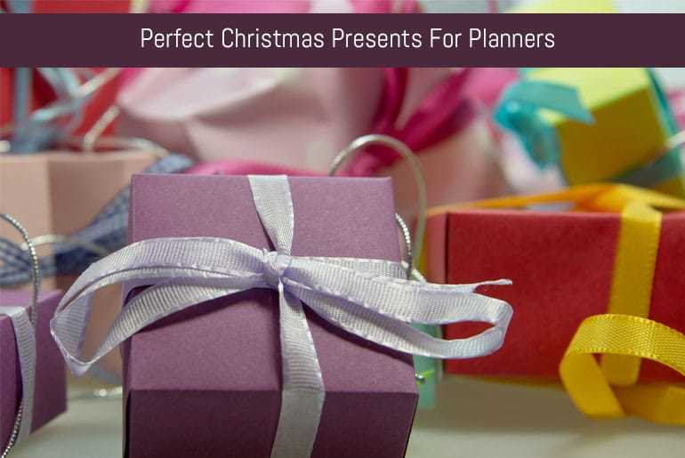 Perfect Christmas Presents For Planners