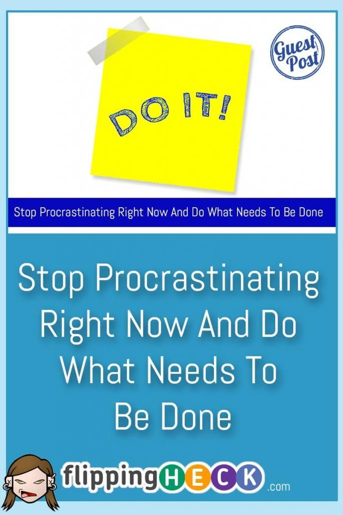 There are many excuses that you can come up with in order to procrastinate and put things off. Adam Ferraresi takes a look at some simple solutions you can use to get stuff done