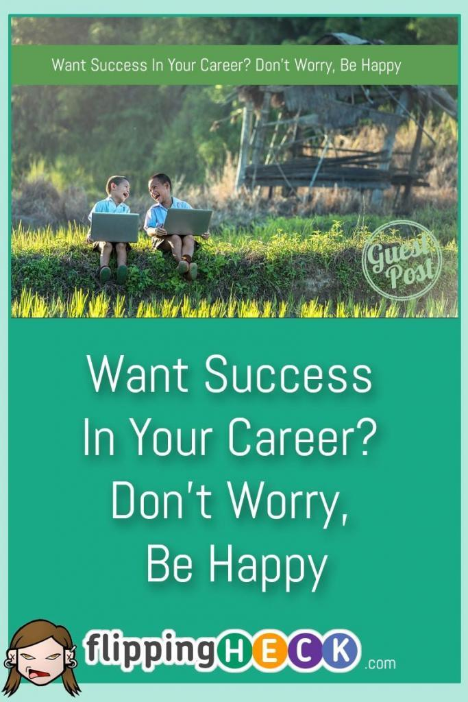 Would you like to be more successful at work? You can become so easily! Contrary to popular belief success doesn't breed more success, being happy does.