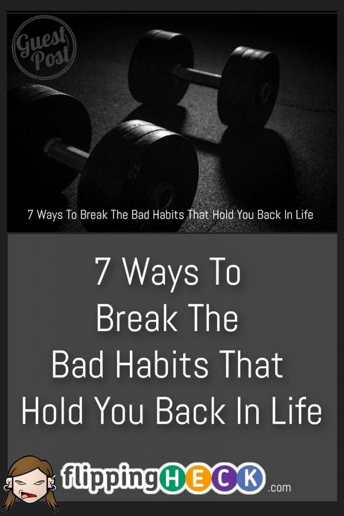 We all have bad habits - whether we like to admit it or not. In this post we take a look at some of the motivations behind these habits and what you can do to turn them around.