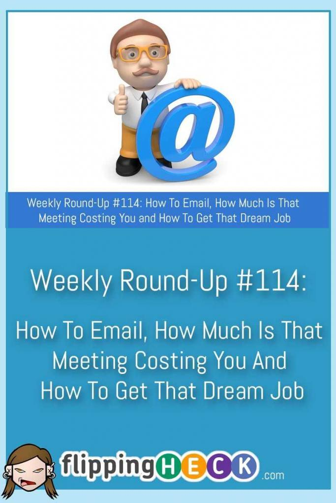 In this week's round-up we take a look how to craft the perfect email, whether a piece of art will make you more productive and how to bullet journal on your iPhone.