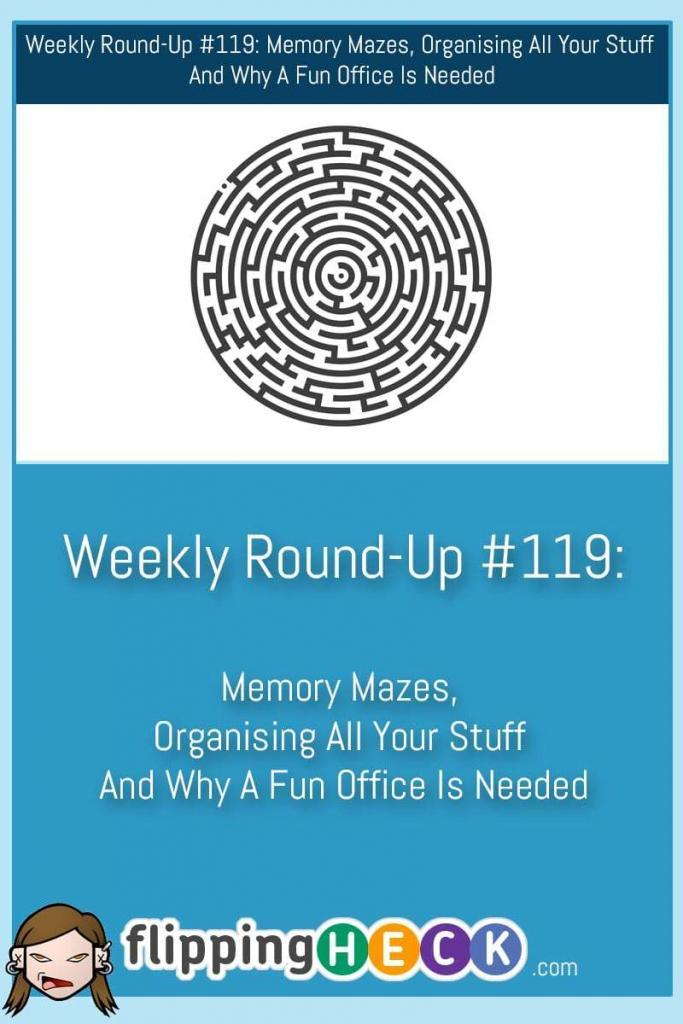 Welcome to this week's round up. We take a looks at how you can never lose your keys again, lots of organising tips including a great paper-storage system and how to determine whether you're an introvert or extrovert based on your McDonald's order!