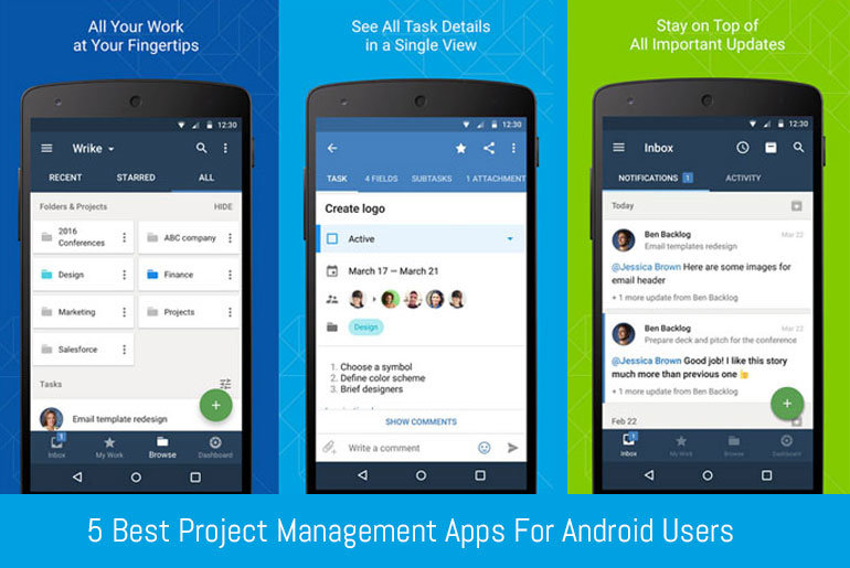 5 Android Apps For Project Management