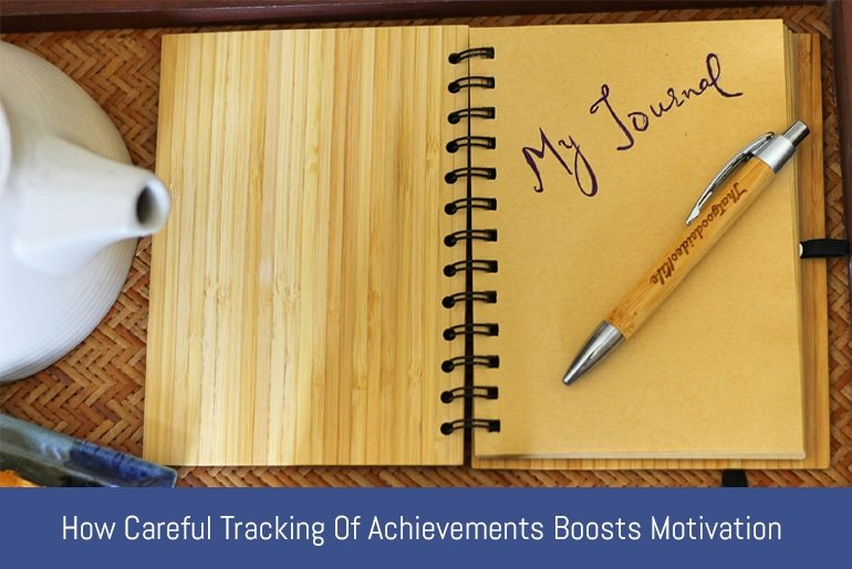 How Careful Tracking of Achievements Boosts Motivation
