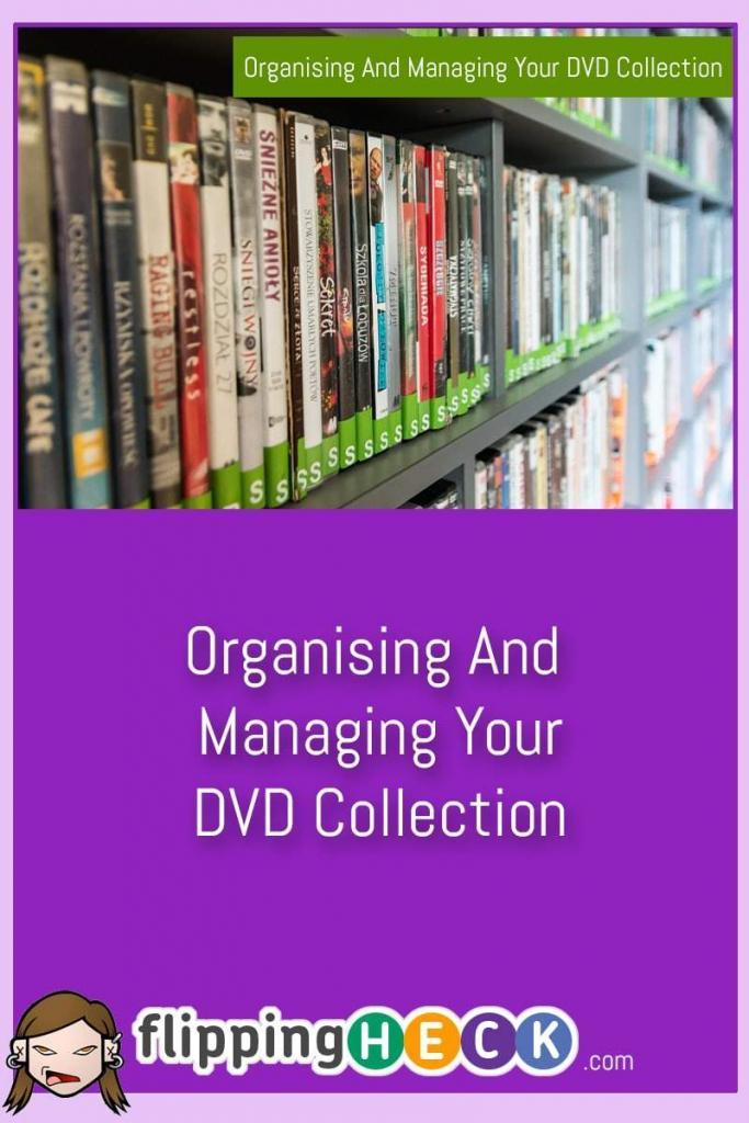 Do you have piles of DVDs stuck in random corners all over your house? Can you find the DVD you're really in the mood to watch quickly or do you give up and watch whatever's already in the DVD player? This article gives you some simple ways to organise your collection and track what you own and watch