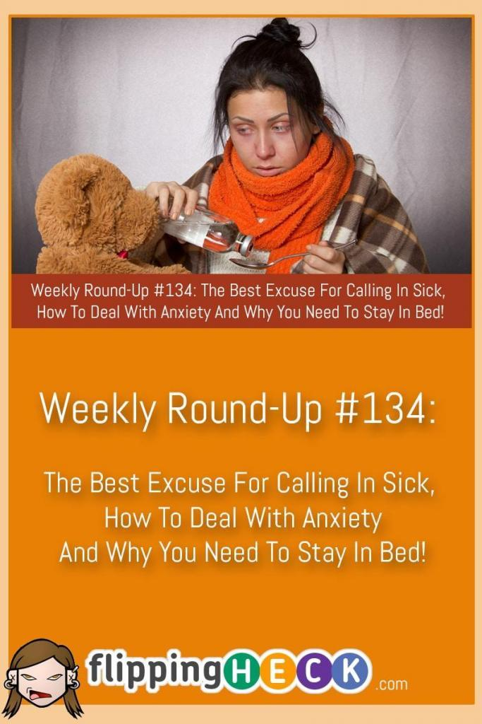In this week's round-up we look at why a 4am start time could be seriously bad for your health, what the best reason for calling in sick is (according to your boss) and how you can deal with anxiety and negative thoughts and turn them into positives.