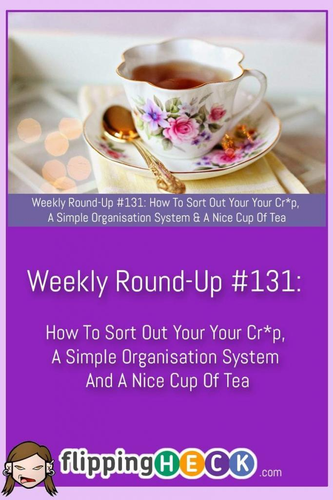 In this week's round-up we take a look at a rudely titled book that will help you tidy up all the rubbish in your house, how you can get organised with just a couple of pads and a calendar and how a nice cup of tea can make you super productive. 5 Surprising Qualities That […]