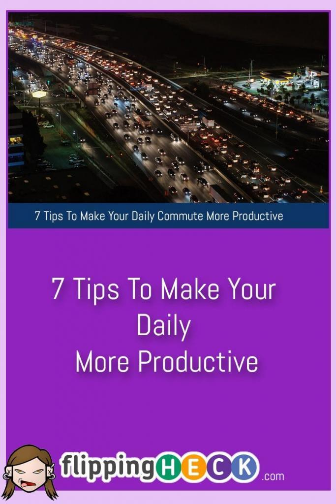 We spend up to a week a year commuting and it seems a shame to waste all of that time when you could be doing something productive. In this article we look at 7 ways you can use your daily commute to make your day super productive