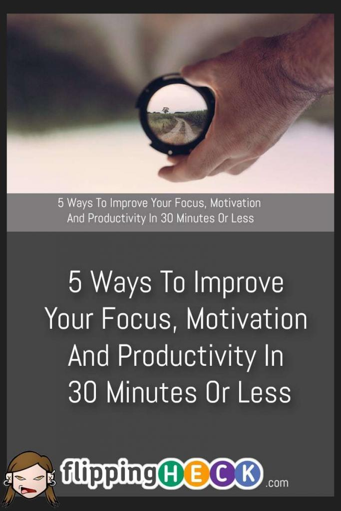 If you think that you need a huge amount of time for a morning ritual to set you up for the day, or that you need to take big chunks of time out of your day to refresh and revitalise yourself then think again! With 5 simple techniques, Dan Scalco shows us how we can regain our focus to become more motivated and productive with only a little effort.