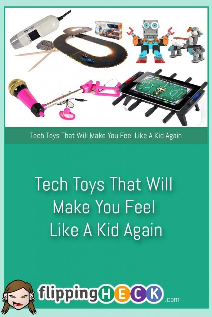Kids have all the best toys these days! For those of you looking to get the latest gadgets for your children for Christmas, or perhaps you're looking for something to spend a little spare cash on the Mark Cop has a few ideas you might not have thought of.