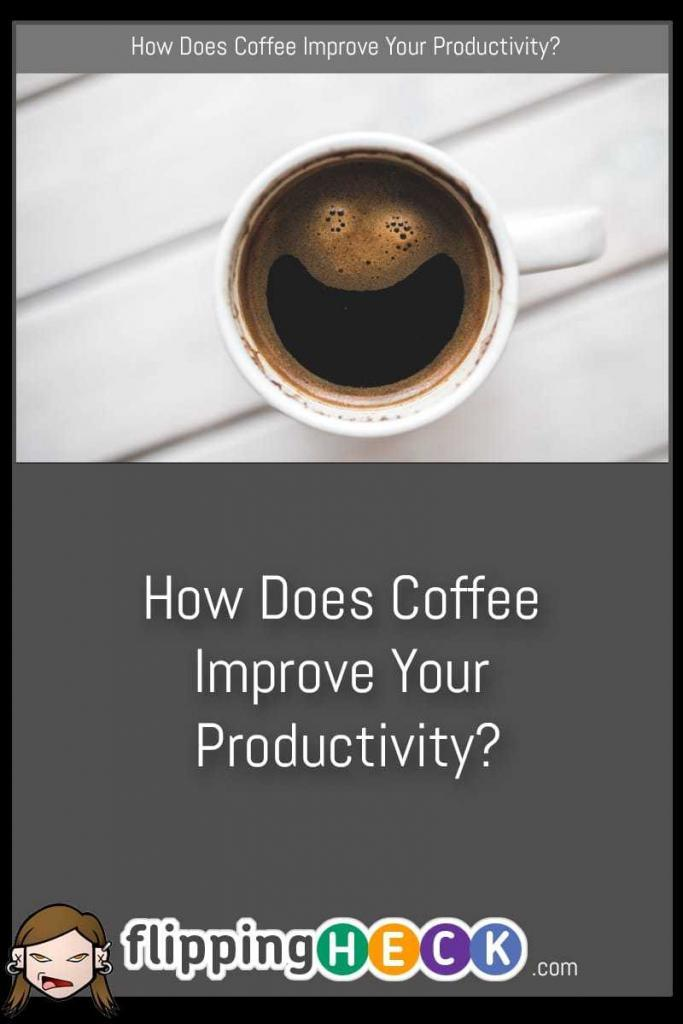 I'm sure you enjoy a cup of coffee in the morning but did you know that it can help you to become more productive during your working day as well? Sarah Jones takes a look at how her favourite beverage can up your game and help you get your tasks completed on time.