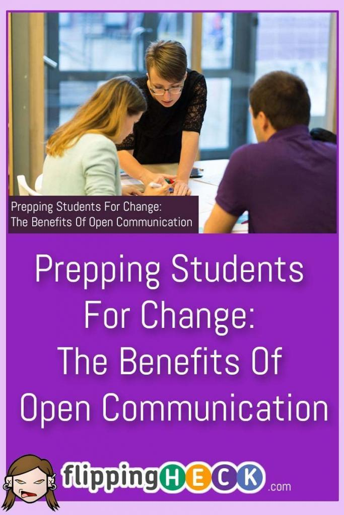 If you're an educator, parent or an employer then open communication with young students and interns is essential in order to help them understand and prepare for the big changes that lie ahead as they move through the education and workplace system