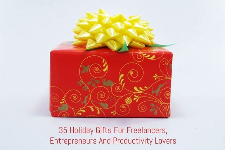 35 Holiday Gifts For Freelancers, Entrepreneurs And Productivity Lovers