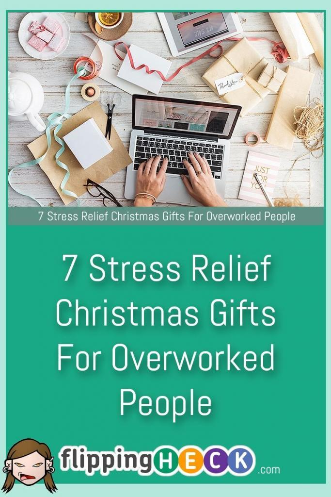 If you're looking for some last minute gift ideas for a stressed person in your life - or maybe you'd like to treat yourself this festive season then check out Luke Douglas' 7 great gift ideas for people who need to unwind a little