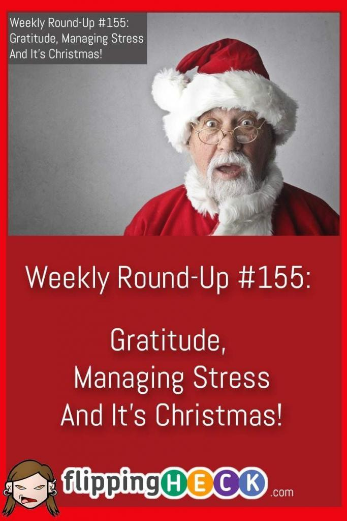 In this week's round-up we look at how important gratitude is, the impact on stress in the workplace - and what you can do about it, and how you can switch off from work at Christmas.