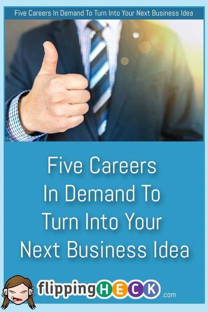 If you're looking for a career change over the next year, make sure you choose a business area that is in a strong position to grow over the coming years. In this article we look at 5 careers that will be going from strength-to-strength in the near future.