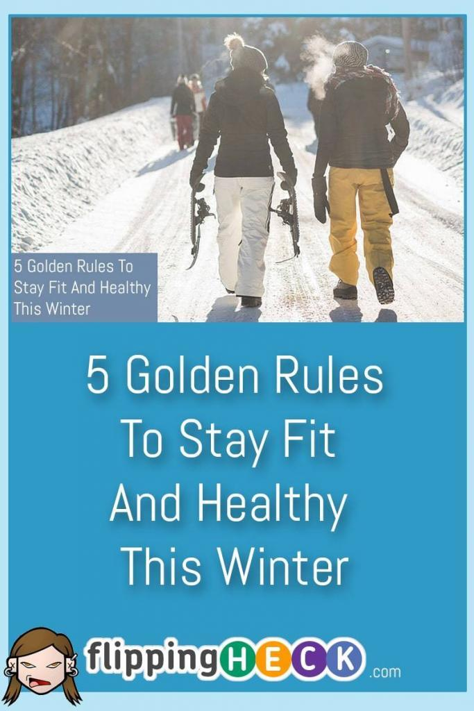 It's easy to let your fitness routine be left behind during the cold, miserable winter months but it's important to keep it up. In this article Joshua looks at 5 Golden Rules that will help you stay fit and healthy this winter season so you're ready and raring to go when Spring comes around.