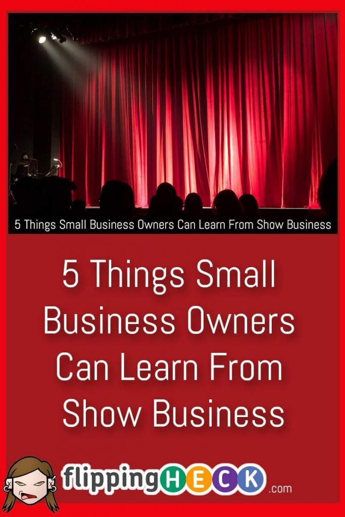 DontthinktraditionalbusinessandshowbusinesshaveanythingincommonThinkagainInthisarticlewetakealookatsomelessonsyoucanlearnfromshowbusinessandapplythemtoyourownbusinesstoallowittoprosperandgrow