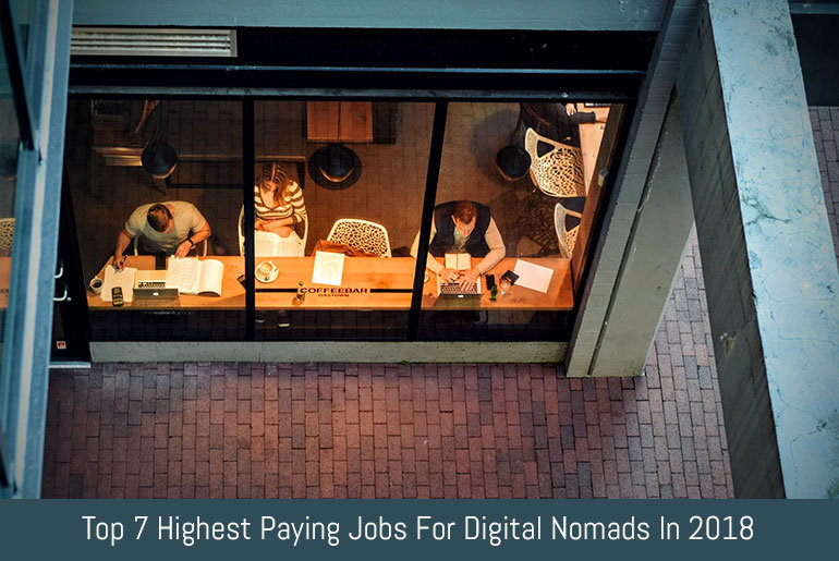 Top 7 Highest Paying Jobs For Digital Nomads | Flipping Heck