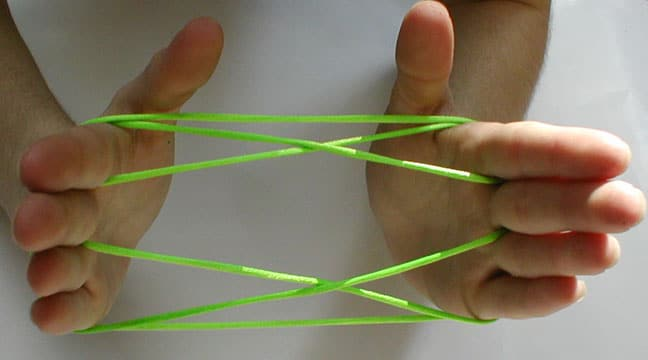 Cats Cradle may help you concentrate if you're a Kinesthetic Learner