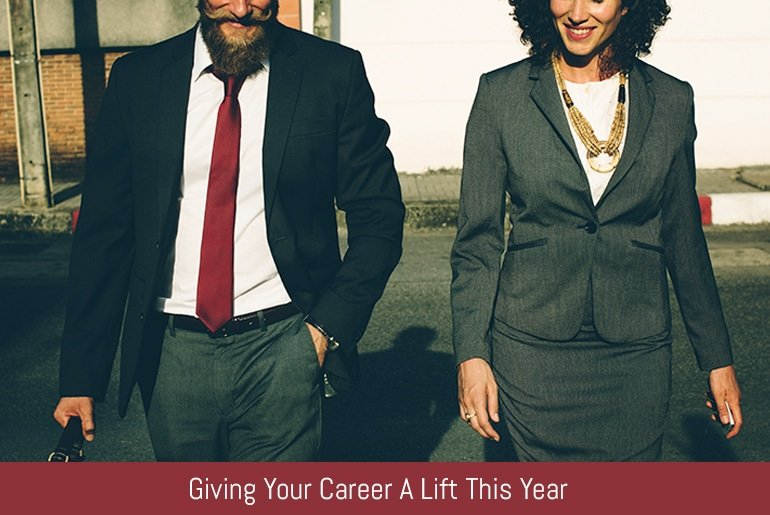 Giving Your Career A Lift This Year