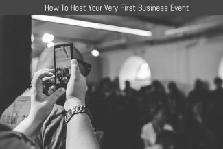 How To Host Your Very First Business Event
