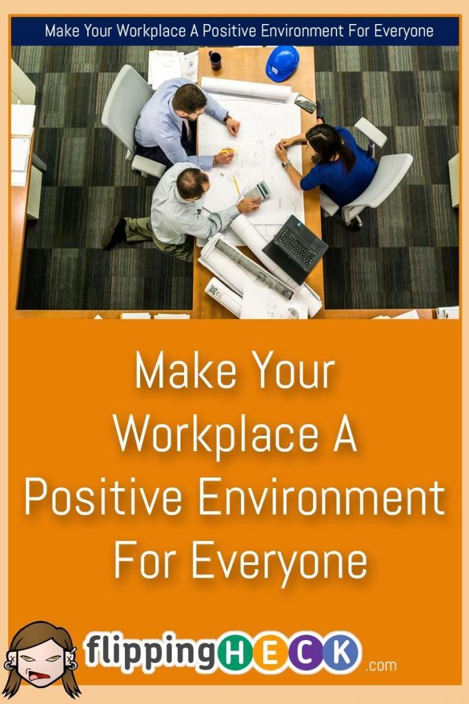 If you want to turn a profit and keep your shareholders and customers happy then you'll need to ensure that your workforce is happy too. With a few simple changes you can create a positive environment for your employees and increase their productivity massively.