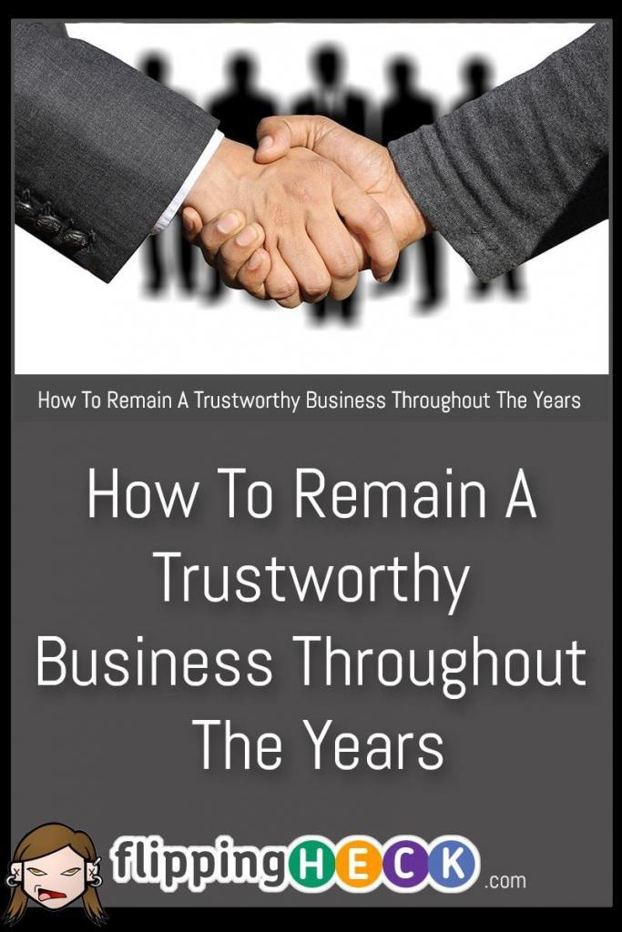 It's all well and good to balance your books but in order for your business to be truly successful you need to build trust with your customers. In this article we look at a few simple ways you can remain trustworthy and keep your customers coming back again and again.
